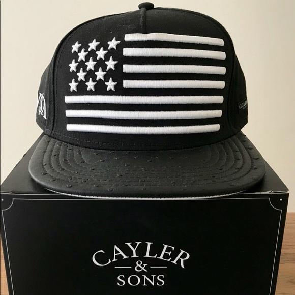 CAYLER   SONS American Flag SnapBack 94f482d42dd